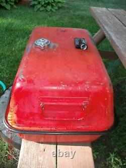 Rare 12 Gallon Mercury Fuel Gas Tank Very Nice Antique Vintage Outboard Motor