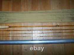 Rare 9 1/2 Foot E. F. Payne Bamboo Fly Rod, Von Lengerke & Antoine Model, Nice