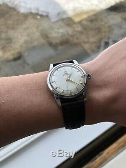 Rare And Very Nice Omega Bumper Seamaster Automatic Watch Cal. 354 17j. 1950