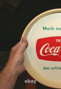 Rare Antique Vintage Original 1950's German Coca Cola Coke Tray Nice