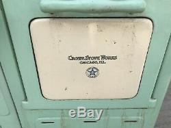 Rare Crown Antique Gas Stove Very Nice