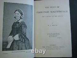 Rare Florence Nightingale Victorian Nurse Antique Book Crimean War Nice Gift