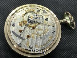 Rare Hamilton Pocket Watch 18s 21j Nice Railroad 12/24 Hr. Dial c1904