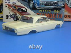 Rare Jo-han #gc-964200 1964 Plymouth Belvedere Petty Nascar Or Funny Car Nice