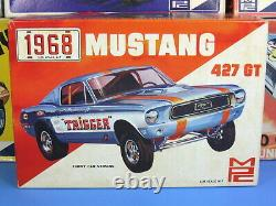 Rare Mpc# 1-1368-200 1968 Ford Mustang 427 Gt Annual Clear Hood S/i Nice