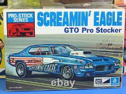 Rare Mpc# 1-1753-225 Screamin' Eagle 1972 Gto Pro Stocker Unbuilt Nice Read