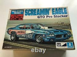 Rare Mpc 1-1753-225 Screamin Eagle 1972 Gto Pro Stocker Unbuilt Nice Read All