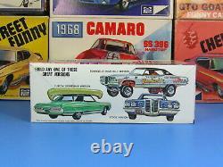 Rare Mpc# 970-200 1970 Pontiac Bonneville 2 Door Hardtop Annual Unbuilt Nice