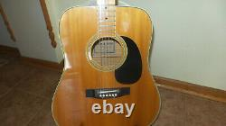Rare Vintage Ibanez Concord Guitar, Model 699 Blonde, Pre Lawsuit, Nice