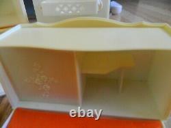 Rare Vintage Marx 1978 Sindy Doll Furniture Bedroom set! 10 pc. Nice! + BONUS