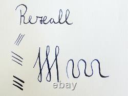 Rare & nice antique BCHR REXALL fountain pen flexy 14ct F nib Freshly serviced