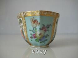 Superb Rare Vintage Dresden Cabinet Cup And Saucer Nice Antique Shape