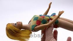 Ultra Rare Spectacular Vintage 1966 Original Color Magic Barbie Doll Very Nice