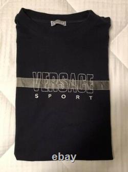 VERSACE SPORT Vintage Tshirt Tee Shirt Size 58 Nice Worn VERY RARE