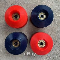 VINTAGE DOGTOWN ROCK AND ROLLERS SKATEBOARD WHEELS 70's RARE NICE SET