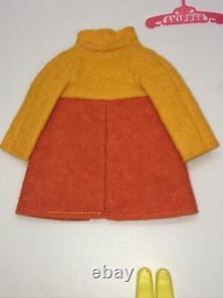 VTG Barbie Skipper 1970 Twice As Nice #1735 Rare Orange Variation Complete