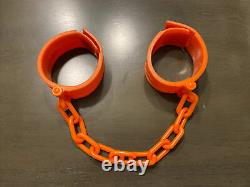 Very Nice 1985 My Pet Monster, Rare Colored Hand Cuffs, Shackles, Handcuffs