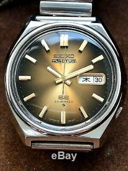 Very Nice And Rare Vintage 1975 Seiko Actus Automatic 6106-8760