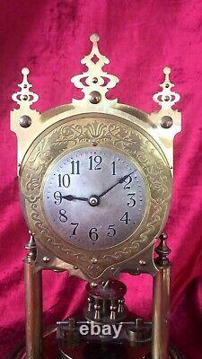 Very Nice Rare 400 Day, Torsion, Anniversary Clock