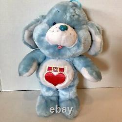 Vintage 1985 Care Bear Cousins Loyal Heart Dog Kenner RARE UK Exclusive NICE