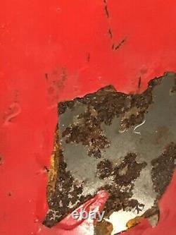 Vintage 2-52 RED COLEMAN 200A BLACK COLLAR LANTERN ORIGINAL GLOBE Rare Very Nice