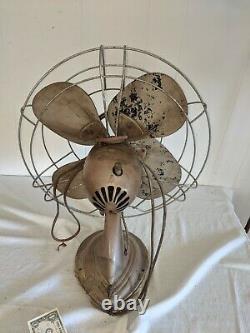 Vintage Antique Westinghouse Y 4613 Electric Fan USA Rare Nice Condition
