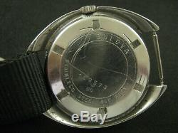 Vintage BULOVA OCEANGRAPHER SNORKEL666 Feet Men's Watch Nice Rare Collection