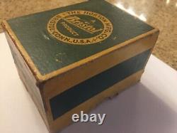 Vintage Casting Reel MEEK REEL BOX ONLY! Nice Rare MEEK REEL BOX
