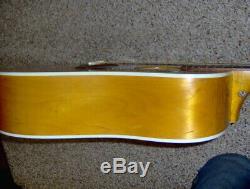 Vintage Guild G37 1970s Rare Nice Acoustic Guitar