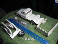 Vintage MPC, 125, Plastic Built 72 Chevy Cheyenne TowithPickup Truck Rare/Nice