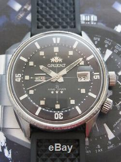 Vintage Orient King Diver Automatic 21 Jewels Japan Watch. Nice & Rare