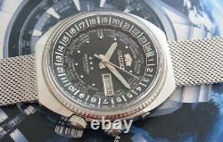 Vintage Orient Wd World Diver Automatic 21 Jewels Japan Watch. Nice & Rare