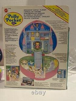 Vintage Polly Pocket Starlight Castle IN OPEN-BOX Extremely Rare! Nice Box Clean