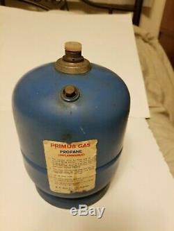 Vintage Primus propane tank no 2006 for stove lantern Very Rare Nice condition