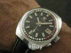 Vintage RADO CAPTAIN COOK Automatic Date Men's Watch Nice Rare Collection