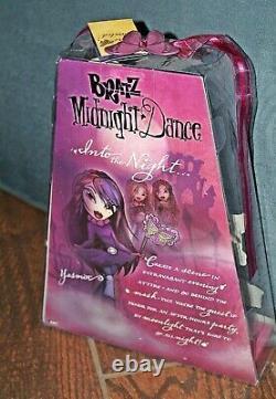 Vintage RARE BRATZ MIDNIGHT DANCE YASMINE Doll NEW in Box! Nice One! NRFB