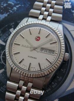 Vintage Rado Voyager Automatic 17 Jewels Swiss Made Watch. Nice & Rare