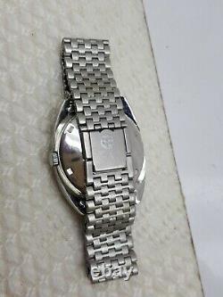 Vintage Rare Felca Space Star Ar Date Day Swiss Wrist Watch Auto Mens Nice Dial