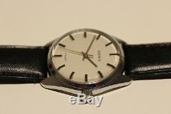 Vintage Rare Nice Classic Collectible Romania Mechanical Men's Watch Orex 17j