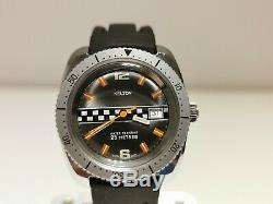 Vintage Rare Nice Collectible Racing Style Hand Wind Up Men's Watch Kelton