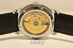 Vintage Rare Nice Stainless Steel Men's Ladies Swiss Automatic Watchdebio 25j