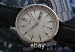 Vintage Seikomatic-p 5106-8020 Automatic 33 Jewels Japan Watch. Nice & Rare