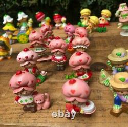 Vintage Strawberry Shortcake Miniatures Strawberry Land Lot 53 NICE RARE LOT